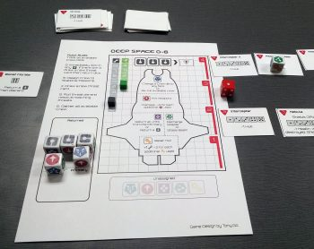 Deep Space D6 Print and Play Review – Games in Libraries